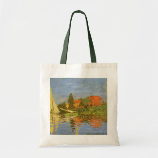 Regatta at Argenteuil by Claude Monet Tote Bag