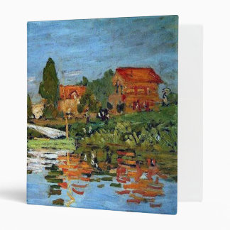 Regatta At Argenteuil, Claude Monet Binder