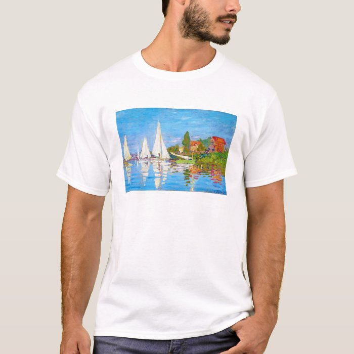 Regatta at Argenteuil Claude Monet T-Shirt