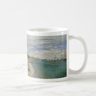 Regatta at Sainte-Adresse - Claude Monet Coffee Mug