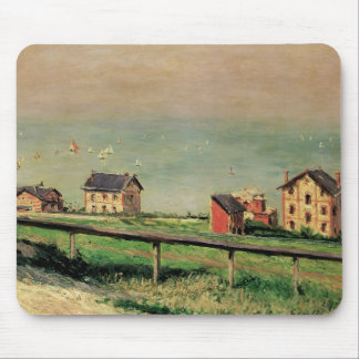 Regatta at Villerville by Gustave Caillebotte Mouse Pad