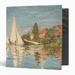 "Regatta de Claude Monet el   en Argenteuil, c.1872 Carpeta 1 1/2"""