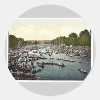 Regatta de Henley, I., Londres y suburbios, cl de Etiquetas Redondas