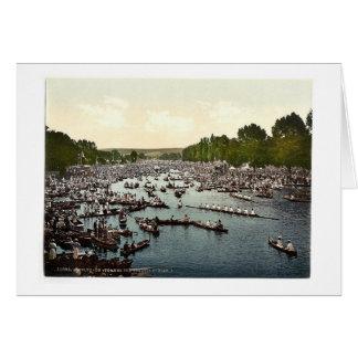 Regatta de Henley, I., Londres y suburbios, cl de  Tarjetón