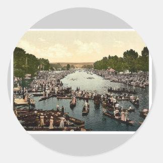 Regatta de Henley, II., Londres y suburbios, Pegatinas Redondas