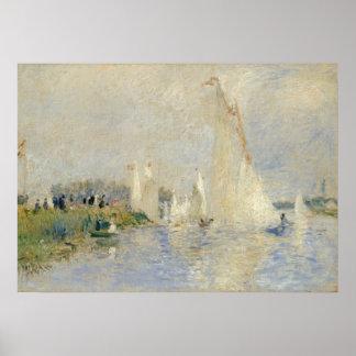 Regatta en Argenteuil, 1874 (aceite en canv Impresiones