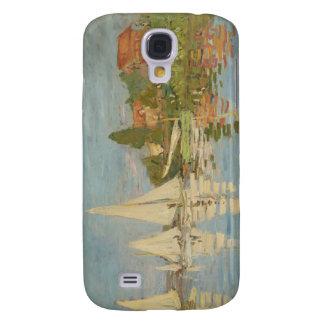 Regatta en Argenteuil - Claude Monet Funda Para Galaxy S4