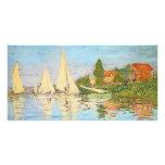 Regatta en Argenteuil de Claude Monet Tarjeta Personal