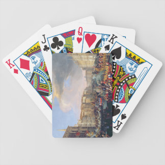 Regatta Held in Honour of Frederick VI of Denmark Bicycle Playing Cards