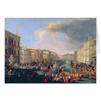 Regatta Held in Honour of Frederick VI of Denmark Card