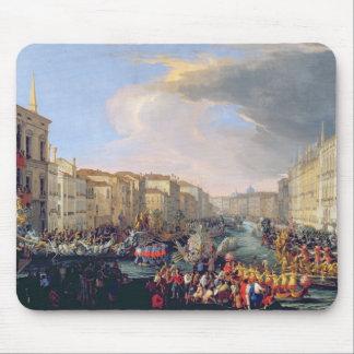 Regatta Held in Honour of Frederick VI of Denmark Mouse Pad