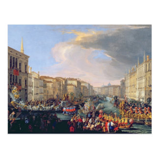 Regatta Held in Honour of Frederick VI of Denmark Postcard