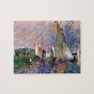 Regatta in Argenteuil by Pierre Renoir Puzzles