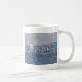 Regatta On The Bosporus Coffee Mug