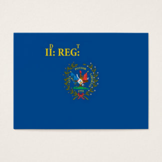 Regemental Colors Business Card