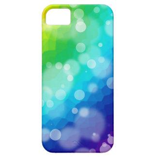 Regenbogen-Asamblea de Bokeh Funda Para iPhone 5 Barely There