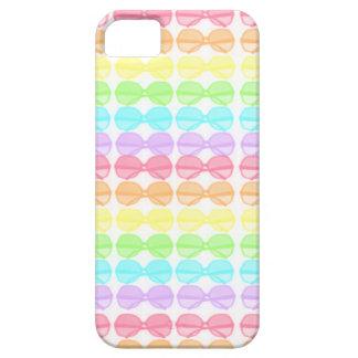 Regenbogen-Pastell-Sonnenbrille iPhone 5 Protector