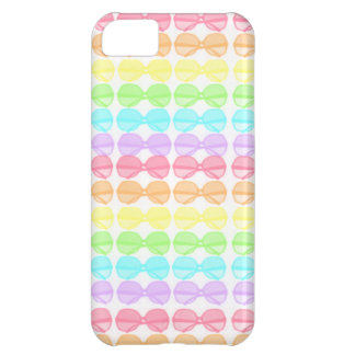 Regenbogen-Pastell-Sonnenbrille iPhone 5C Cover