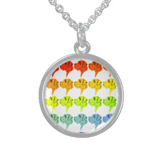 Regenbogendoggen Sterling Silver Necklace