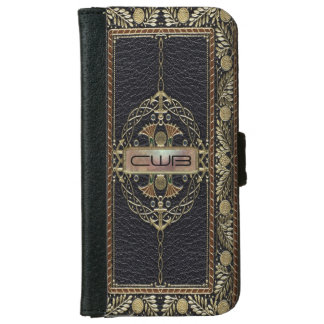 Regencatio 6/6s Shade Old Book Style Wallet Phone Case For iPhone 6/6s