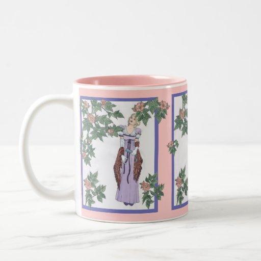 Regencia subió taza de café de dos colores