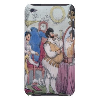 Regency a la Mode, 1812 (coloured etching) iPod Touch Case-Mate Case