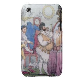 Regency a la Mode, 1812 (coloured etching) Case-Mate iPhone 3 Case