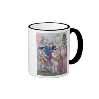Regency a la Mode, 1812 (coloured etching) Ringer Mug