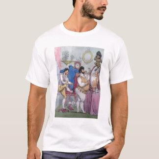 Regency a la Mode, 1812 (coloured etching) T-Shirt