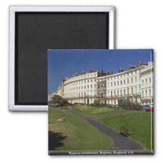 Regency architecture, Brighton, England, U.K. Magnet