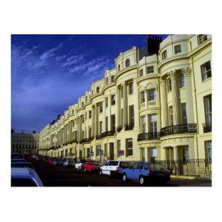 Regency architecture, Brighton, England, U.K. Postcard
