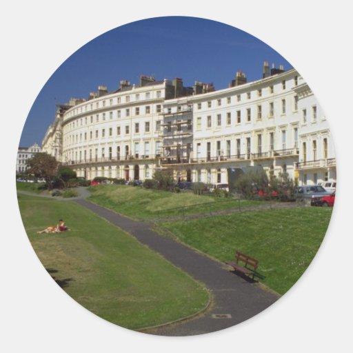 Regency architecture, Brighton, England, U.K. Stickers