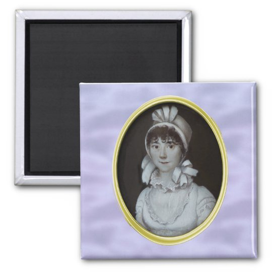 Regency Bridal Portrait Magnet