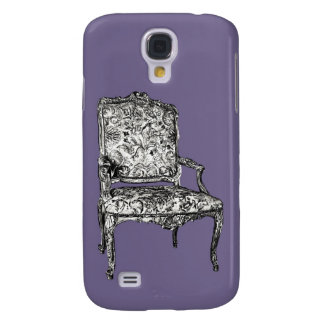Regency chair in lilac galaxy s4 case