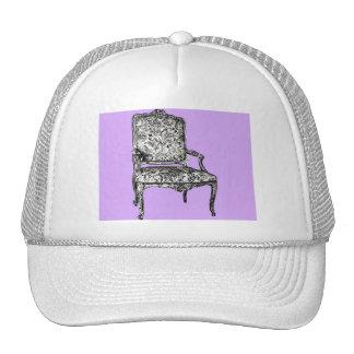 Regency chair in lilac trucker hat