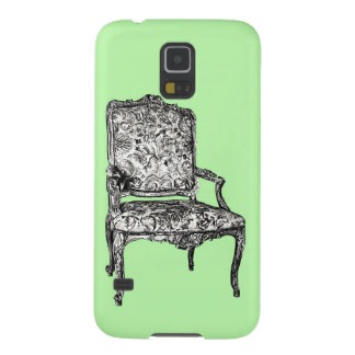 Regency chair in lime green galaxy s5 cover