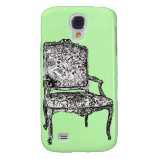Regency chair in lime green samsung galaxy s4 cover