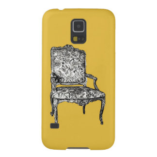 Regency chair in mustard yellow galaxy s5 case
