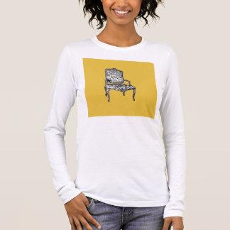 Regency chair in mustard yellow long sleeve T-Shirt
