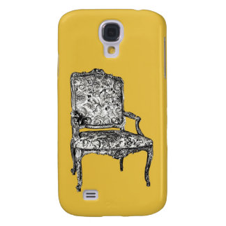 Regency chair in mustard yellow samsung galaxy s4 cover