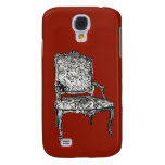 Regency chair in red samsung galaxy s4 cover