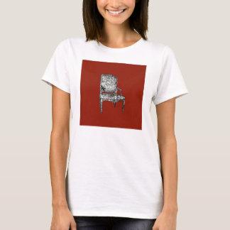 Regency chair in red T-Shirt