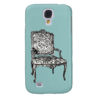 Regency chair in turquoise galaxy s4 case
