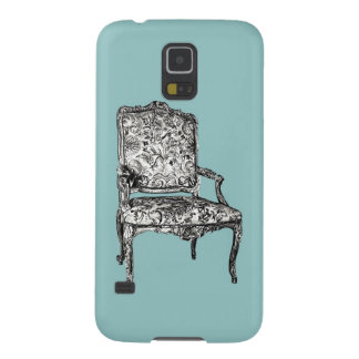 Regency chair in turquoise galaxy s5 case