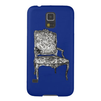 Regency chairs in dark blue case for galaxy s5