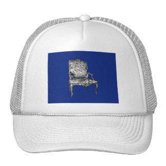 Regency chairs in dark blue trucker hat