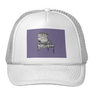 Regency chairs in lilac grey trucker hat