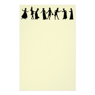 Regency Dancers paper