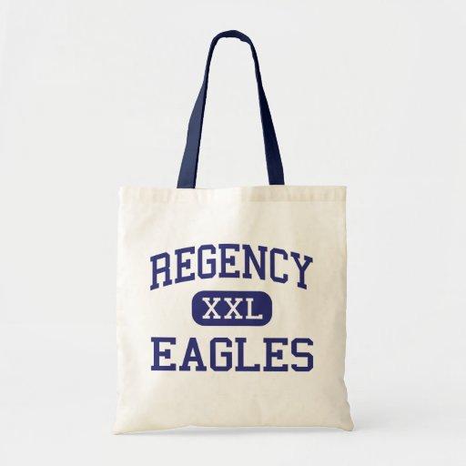Regency - Eagles - High - Long Beach California Budget Tote Bag