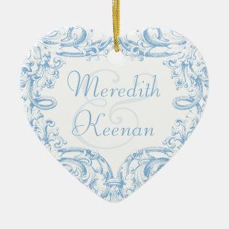 Regency Elegance First Christmas Together Ornament